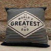 Greatest Dad Cushion