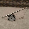 Fishing Pole clock miniature
