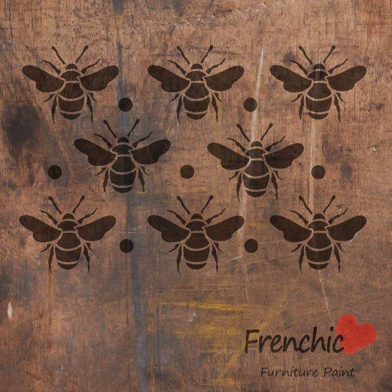 Frenchic Stencil Busy Bees