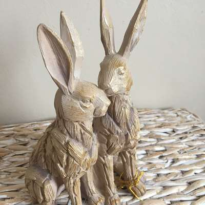 Driftwood Twin Hares