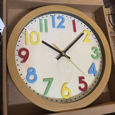 Kids colourful Wall Clock