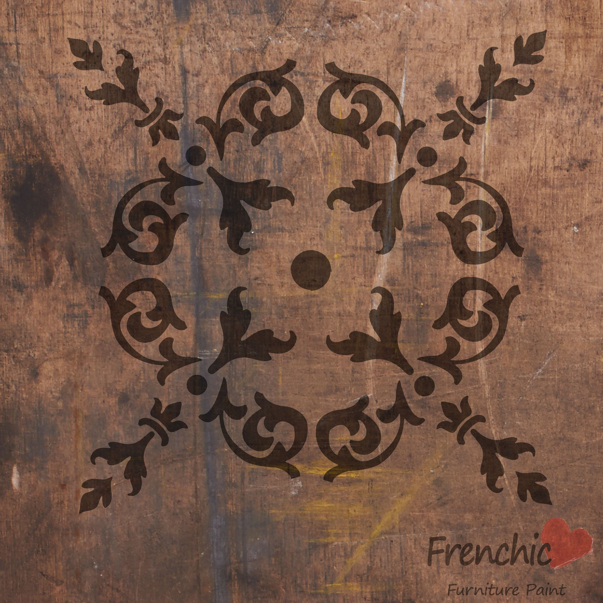 Frenchic Stencil Elegance