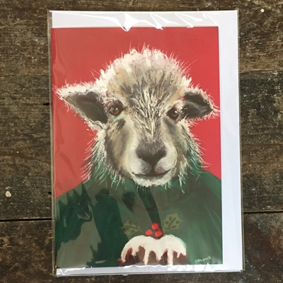 Christmas Card by local artist
